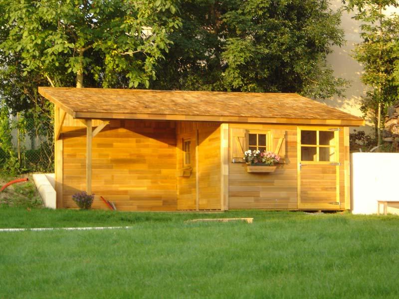 Abris garages dijon ba bois ahuy dijon for Abri exterieur jardin